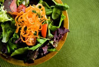 A fast-food salad can be a low-carb option.