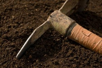 Basic tools aid spring soil preparation.