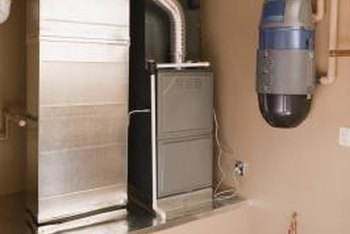 Furnace airflow can be controlled by several methods inside the house -- dampers and vents.