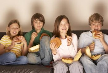 Fast foods advertisements increase the likelihood of teens eating such foods.