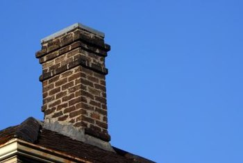 Many chimneys have step flashing on each side that integrates with the upper and lower flashing