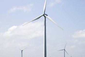 Some ecological engineers develop wind energy systems.