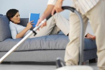 Vacuum your sofa's seating area, back, cushions and crevices.