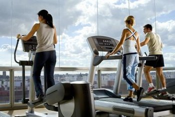 Ellipticals work the glutes with less impact and effort than treadmills.