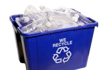Many jurisdictions collect plastic bottles at curbside. (See References 2)