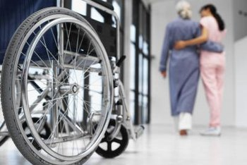 PCTs and LPNs help patients walk or transfer from wheelchairs.