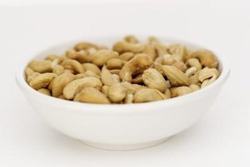Choose unsalted cashews on Atkins to limit your sodium intake as you enjoy healthy fats.