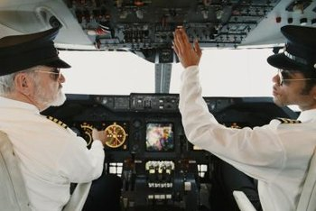 Pilots earn a lucrative salary but have limited job openings.