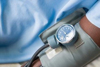 High blood pressure is a risk factor for hardening of the arteries.