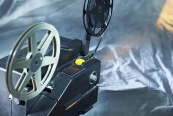 A vintage projector can be an asset to your small business.