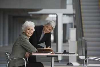Women over 50 are still winning jobs with experience, reliability and professionalism.