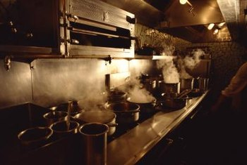 Food service establishments can be hot and stressful places to work.