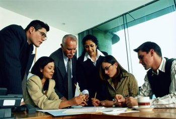 Project management can require consultation with several key employees.