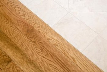 Oak is a moderately hard wood that sands readily.