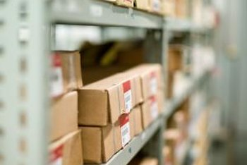 A company needs to track inventory levels for finished goods.