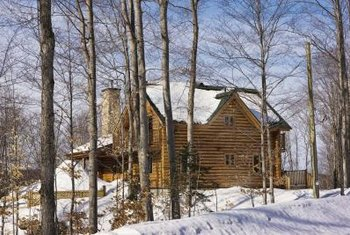 Most log cabin owners face several problems trying to insure their home.