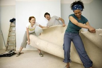 How a carpet is installed and cleaned will determine whether or not it lifts in the future.