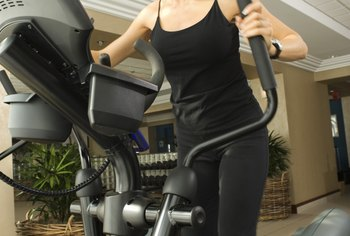 Burn calories and shed fat with an elliptical machine.