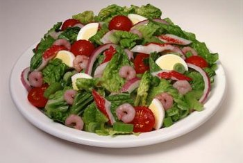 Cherry tomatoes make a colorful addition to salads.