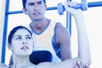 Personal trainers tend to work for health clubs.