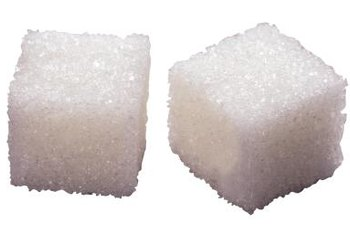 Sugar cubes packed with glucose.