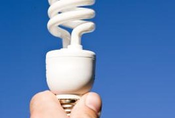 Compact fluorescent lamps use up to 75 percent less energy than conventional light bulbs.