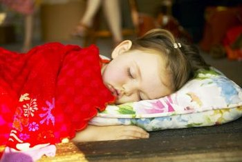 Toddler blankets are sized specifically for a toddler's age and height.