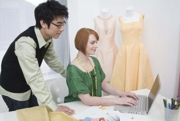 Promoting a fashion event includes using social media and other Internet marketing techniques.