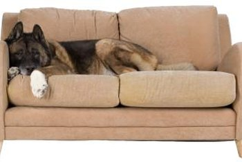 Keep your sofa stable by reattaching its legs.