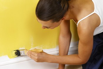 Let yellow paint be an alternative to sunlight in your windowless room.