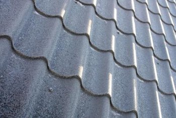 Corrugated metal roofing may be noisier than flat roofing.