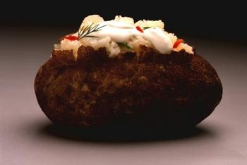 Baked potatoes are allowed occasionally on the Zone diet.