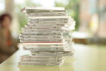 CDs reached market saturation as customers moved towards digital downloads.