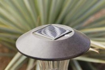 Solar lights help keep you on the safest path.