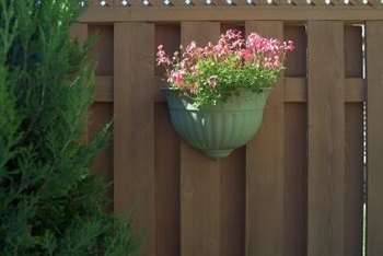 Lattice adds a decorative touch to privacy fences.
