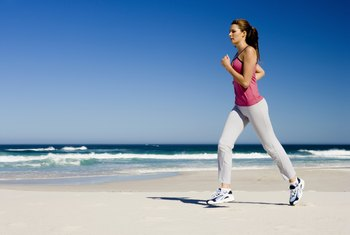 Maximize your calorie burn with a high-energy exercise like running.