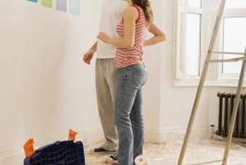 Carefully measure and purchase all supplies before you start to paint the bedroom.