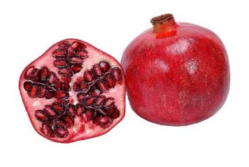While the seeds are desired for their juice, several dyes can be obtained from the flowers and skin of the pomegranate.
