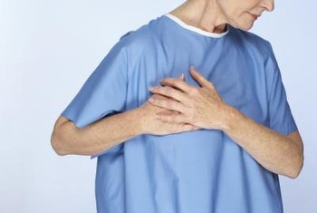 Sharp chest pain can be a symptom of a variety of conditions.