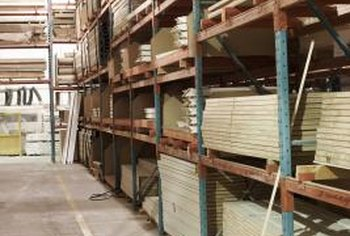 Products that are not physically located in the warehouse can be included in inventory.