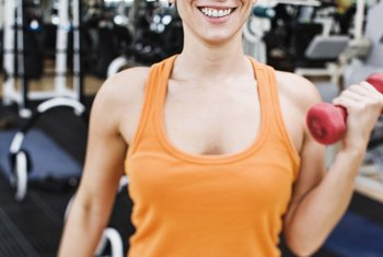 Strength training while you're losing weight helps preserve muscle mass.