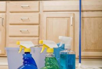Household pollutants are produced by many everyday products, such as cleaners.