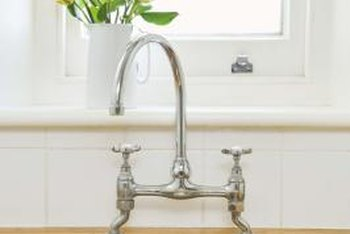 Undermount sinks can be installed with or without a positive overhang.