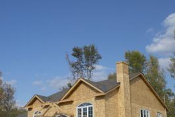 Building and stucco wraps are applied to new construction before adding siding or stucco.