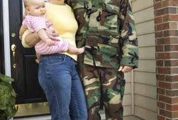 The VA guarantees home loans for eligible enlisted and retired military members.