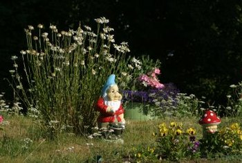 A new paint job makes your gnome more noticeable in the garden.