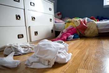 Messy tenants may put off would-be buyers.