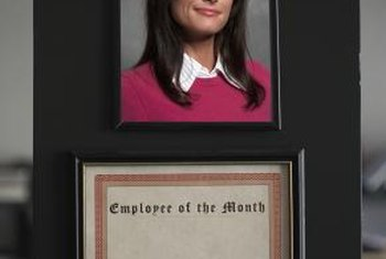 "An HR coordinator might run an ""Employee of the Month"" program."