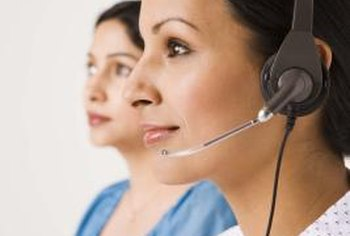 A pleasant speaking voice is a good trait for a call center employee.