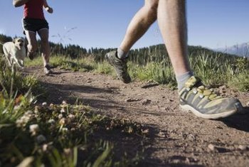 Running on soft surfaces reduces the risk of injury.